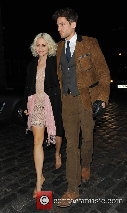 Kimberly Wyatt Celebrities at the London Collections: Tommy...