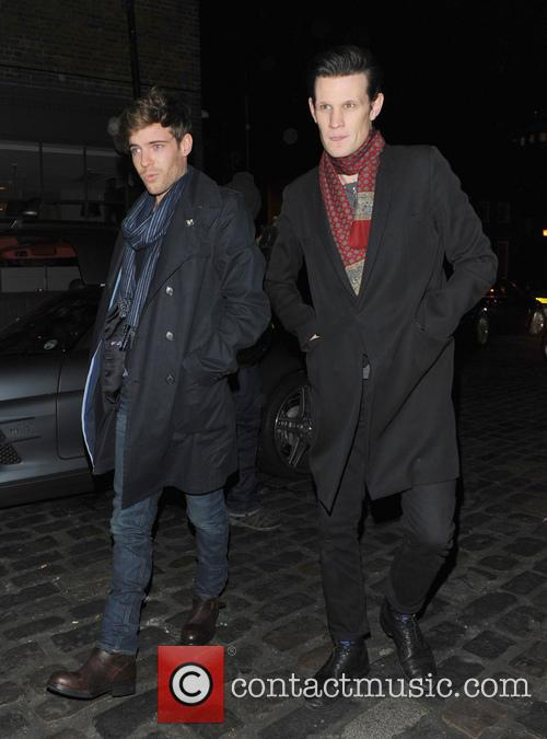 Matt Smith Celebrities at the London Collections: Tommy...
