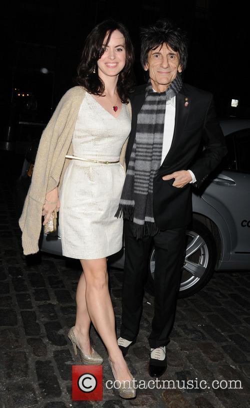 Ronnie Wood and Sally Humphreys 6