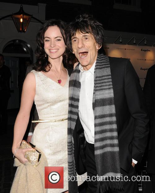 Ronnie Wood, Sally Humphreys and The Zetter Townhouse 2