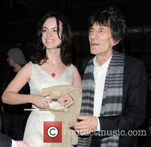 ronnie wood sally humphreys celebrities at the 20043755