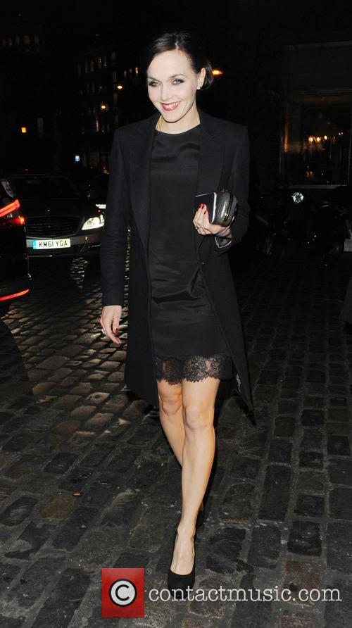 Victoria Pendleton Celebrities at the London Collections: Tommy...