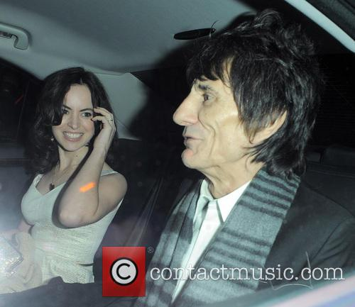 Ronnie Wood, Sally Humphreys and The Zetter Townhouse 1