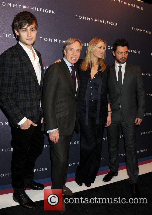 Douglas Booth, Dominic Cooper and Tommy Hilfiger 2