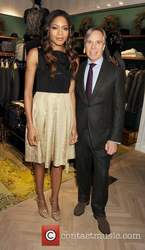 Naomie Harris and Tommy Hilfiger 4
