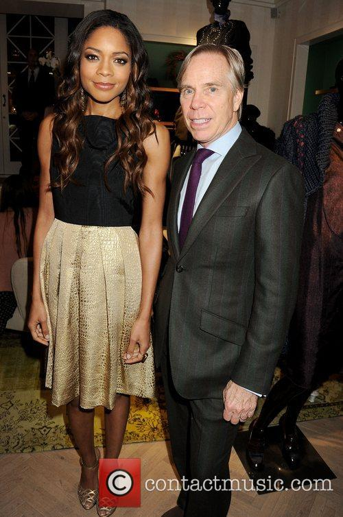 Naomie Harris and Tommy Hilfiger 5