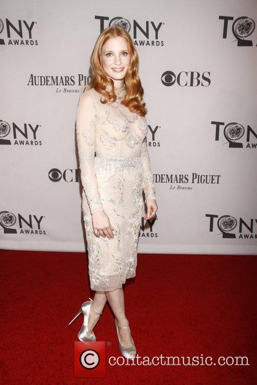 Jessica Chastain and Beacon Theatre 4