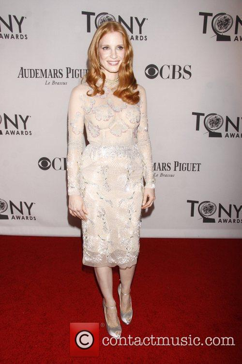 Jessica Chastain and Beacon Theatre 7
