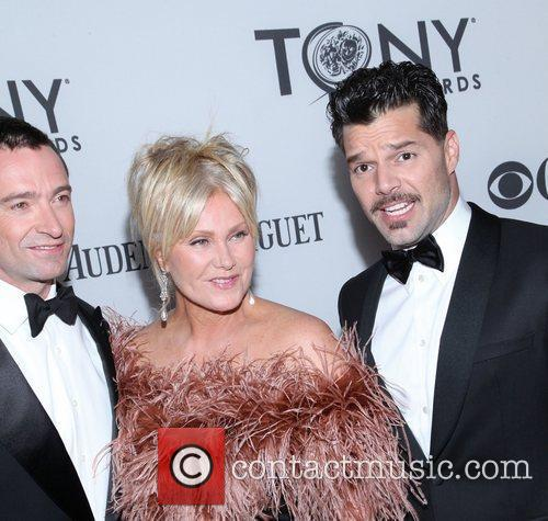Deborra-lee Furness and Ricky Martin 2