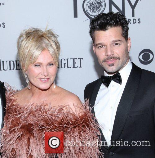 Deborra-lee Furness and Ricky Martin 1