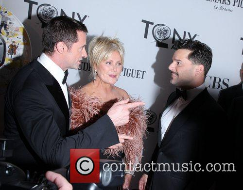 Hugh Jackman, Deborra-lee Furness, Ricky Martin and Beacon Theatre 2