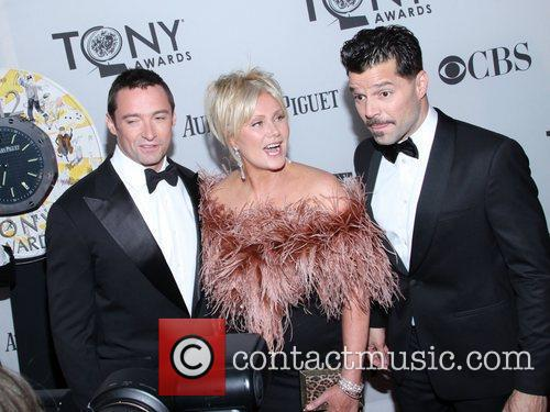 Hugh Jackman, Deborra-lee Furness, Ricky Martin and Beacon Theatre 3