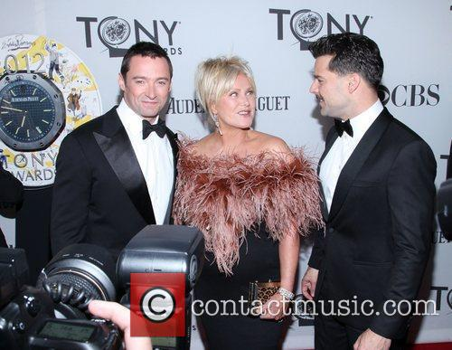 Hugh Jackman, Deborra-lee Furness, Ricky Martin and Beacon Theatre 4