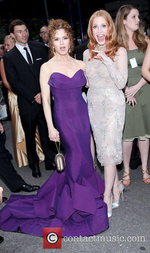 Jessica Chastain, Bernadette Peters and Beacon Theatre 9