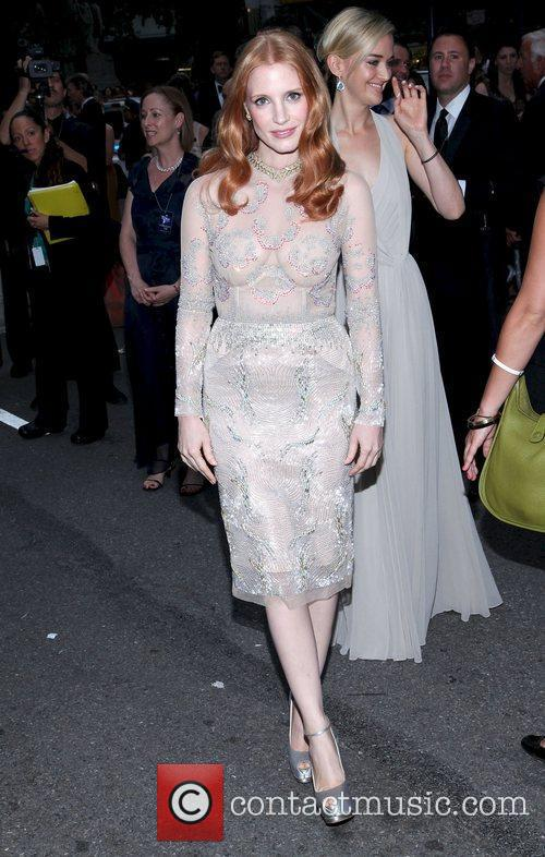 Jessica Chastain and Beacon Theatre 11