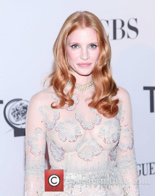 Jessica Chastain and Beacon Theatre 13