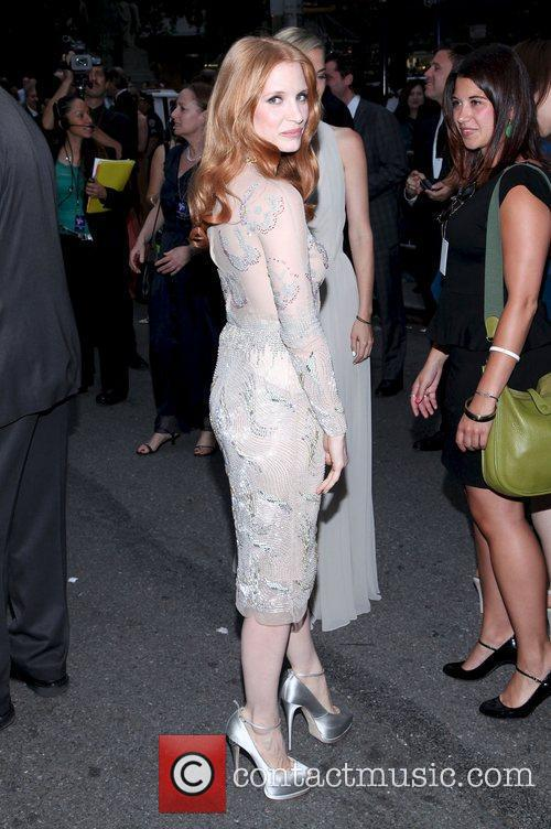 Jessica Chastain and Beacon Theatre 14