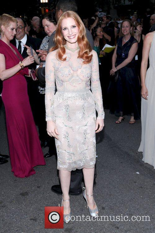 Jessica Chastain and Beacon Theatre 16