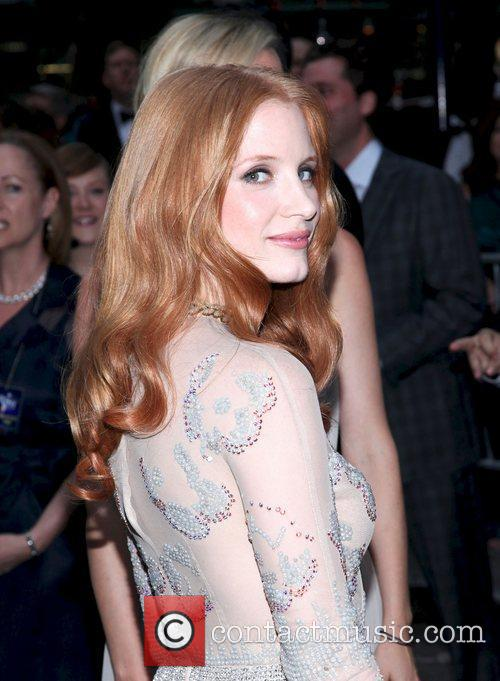 Jessica Chastain and Beacon Theatre 18