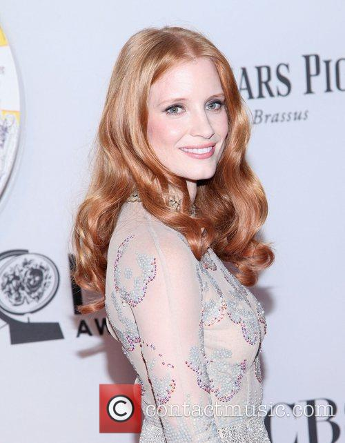 Jessica Chastain and Beacon Theatre 22
