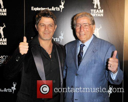 Alejandro Sanz, Tennis and Tony Bennett 2