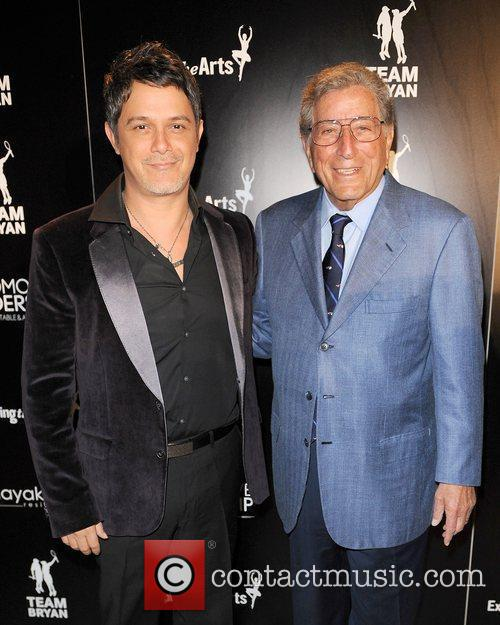 Alejandro Sanz, Tennis and Tony Bennett 1