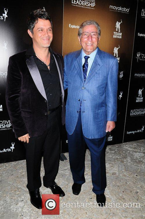Alejandro Sanz and Tony Bennett 7