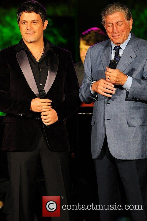 Alejandro Sanz and Tony Bennett 8