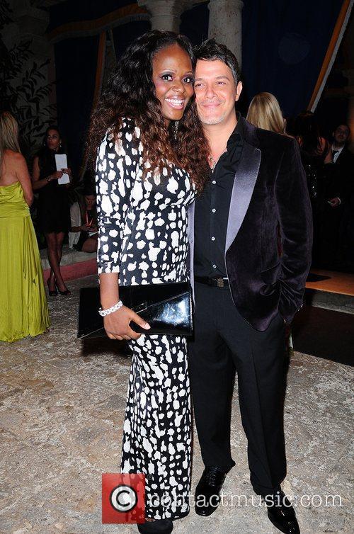 Melky Jean and Alejandro Sanz Tony Bennett Benefit...