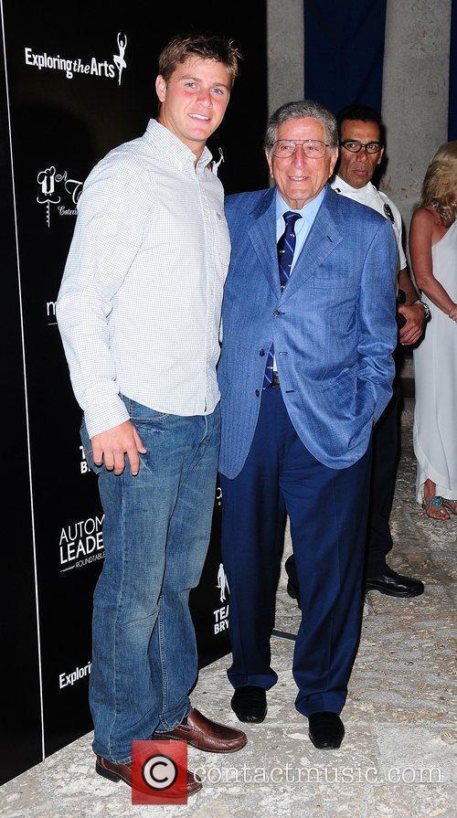 Ryan Harrison and Tony Bennett Tony Bennett Benefit...