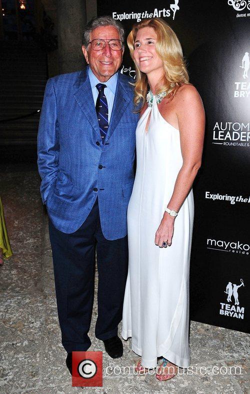 Tony Bennett and Susan Benedetto  Tony Bennett...