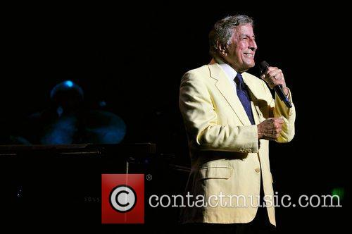 Tony Bennett  performing live in concert at...