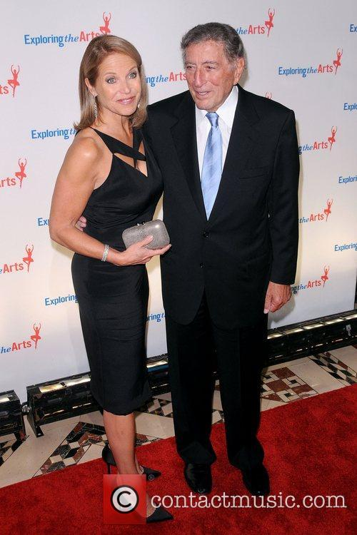 Katie Couric and Tony Bennett 6th annual Exploring...