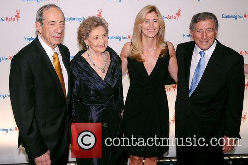 Mario Cuomo, Matilda Cuomo, Tony Bennett and Susan Benedetto 1