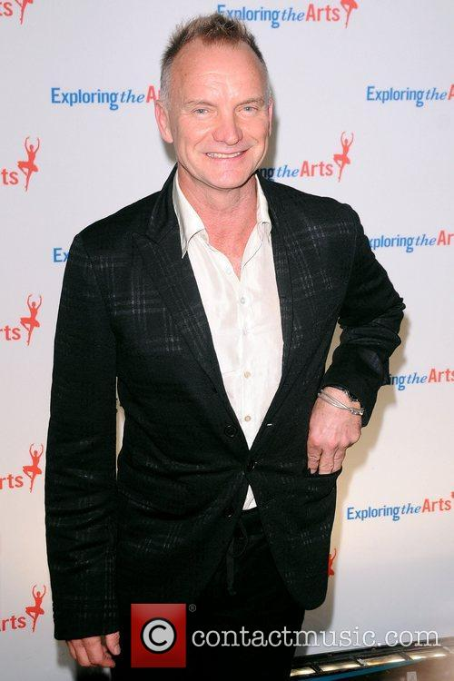 Sting 6th annual Exploring the Arts Fundraising gala...