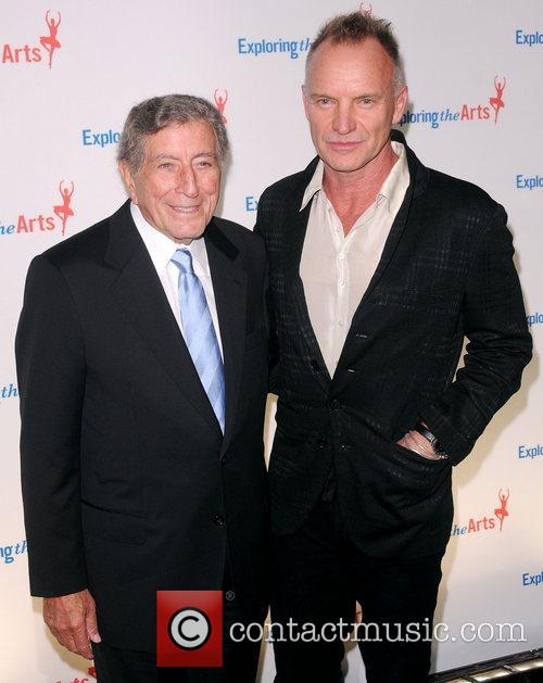 Sting and Tony Bennett 5