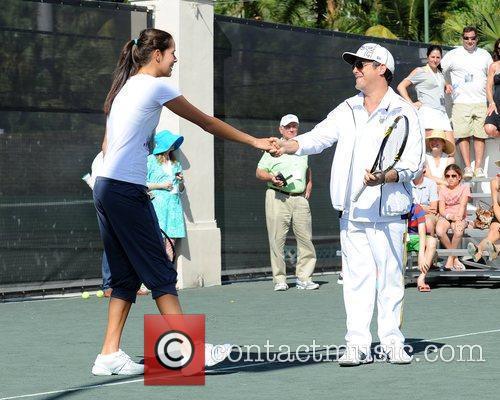 Ana Ivanovic and Alejandro Sanz Tony Bennett's All-Star...