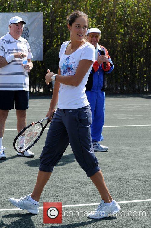 Ana Ivanovic Tony Bennett's All-Star Tennis Event at...
