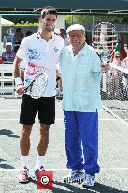 Tony Bennett and Novak Djokovic Tony Bennett's All-Star...