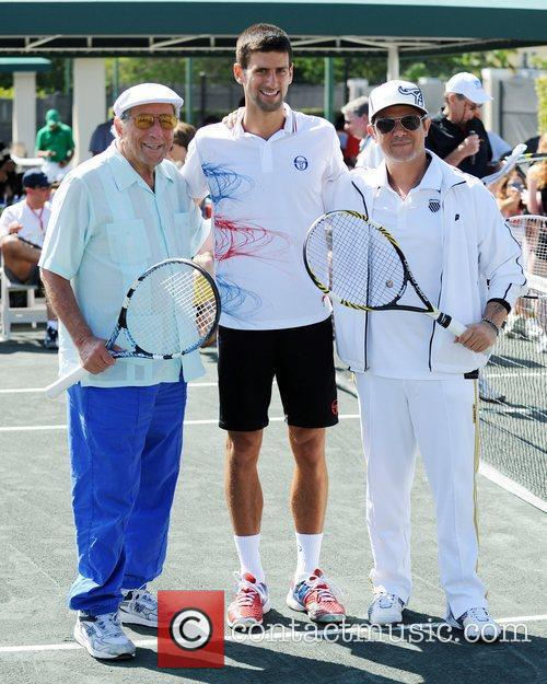 Tony Bennett, Alejandro Sanz and Novak Djokovic 2