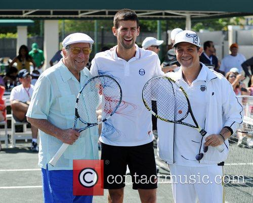 Tony Bennett, Alejandro Sanz and Novak Djokovic 3