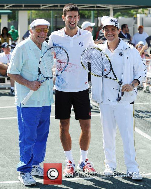 Tony Bennett, Alejandro Sanz and Novak Djokovic 4