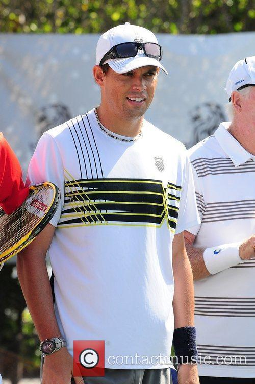 Bob Bryan  Tony Bennett's All-Star Tennis Event...