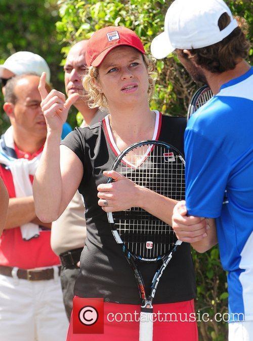 Kim Clijsters  Tony Bennett's All-Star Tennis Event...