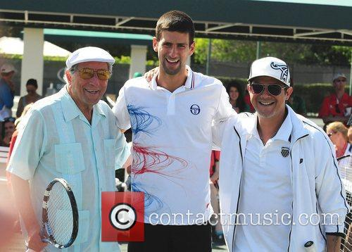 Tony Bennett, Alejandro Sanz and Novak Djokovic 5