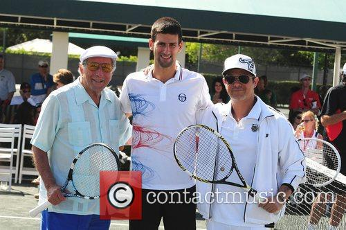 Tony Bennett, Alejandro Sanz and Novak Djokovic 6