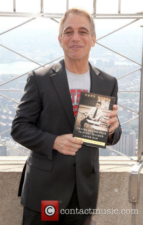 Tony Danza promotes his new book 'I'd Like...