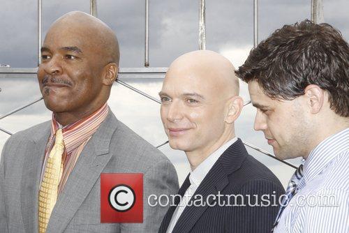 David Alan Grier, Jeremy Jordan and Michael Cerveris 2