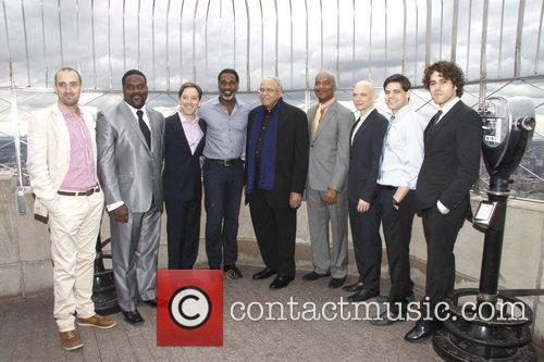 James Earl Jones, David Alan Grier, Jeremy Jordan and Michael Cerveris 2