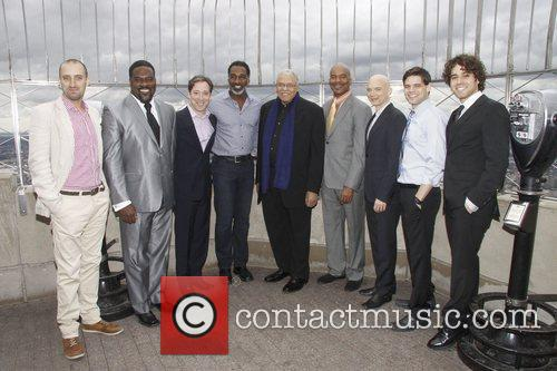 James Earl Jones, David Alan Grier, Jeremy Jordan and Michael Cerveris 1